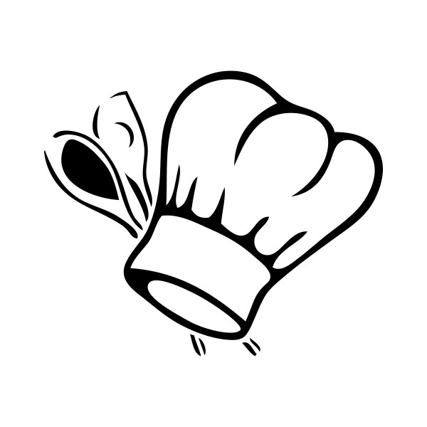 stickers toque de cuisine